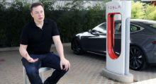 Tesla planning to build retro diner at new Santa Monica Supercharger station: Musk