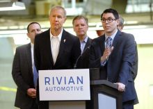 Amazon announces new Rivian EV --- an electric delivery van