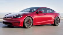 Tesla Model S Plaid breaks Bugatti's 1/4-mile world record with 9.2 seconds run