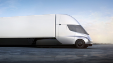 Fully-electric Tesla Semi truck reportedly all set to go into production