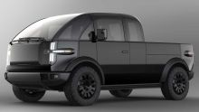 Canoo releases images of fully-electric pickup truck, with official roll out set for 2023