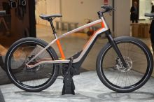 Harley-Davidson officially launches new electric bicycle company; displays prototype