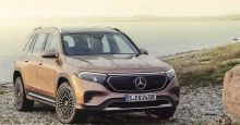 Mercedes-Benz unveils battery-powered 7-seat EQB compact SUV; U.S. to get it next year