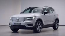 Volvo's all-electric XC40 Recharge SUV available in three new trims