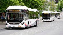 Zaragoza city puts 17 hybrid buses from Volvo into operation