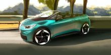 Volkswagen's Electric ID.3 Cabriolet idea teases unique blend electric driving and open roof