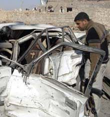 Suicide bomb attack in Afghanistan