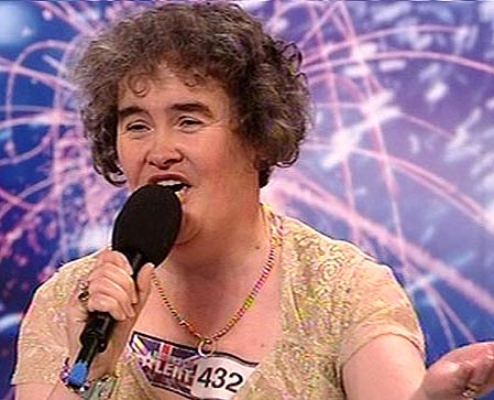 Barack Obama's songsters pen song for Susan Boyle