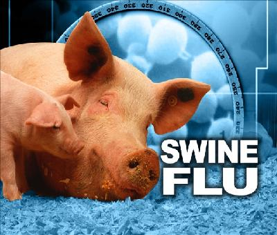 Sand artist creates sculpture on swine flu awareness in Puri