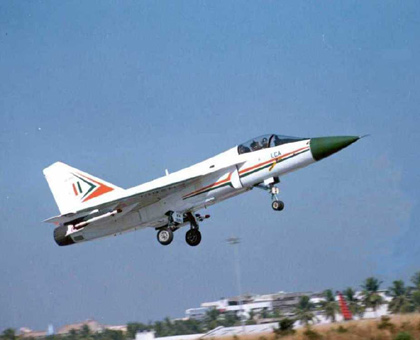 Totally Indian Made Air Craft - Tejas'