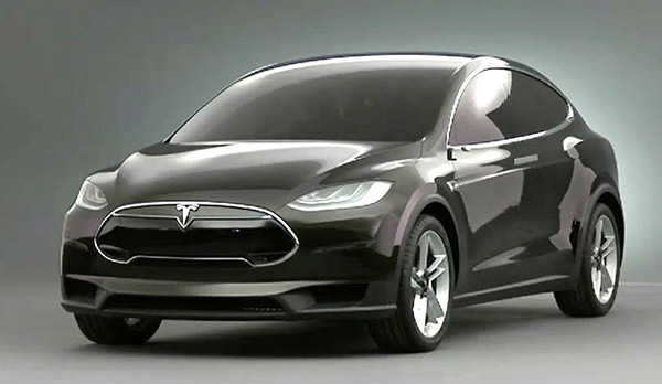 Tesla Motors releases new battery-powered SUV