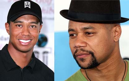 Tiger Woods, Cuba Gooding Jr