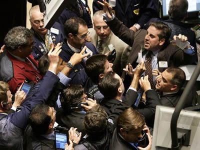 Concern over violence in Libya weighs down US stocks
