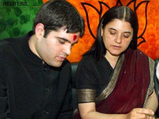 Maneka, Varun and Sonia pay tributes to Sanjay Gandhi