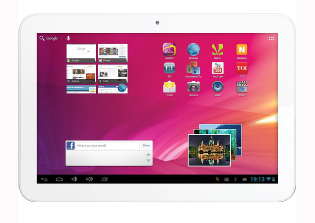 Videocon launches new tablet computer for $205