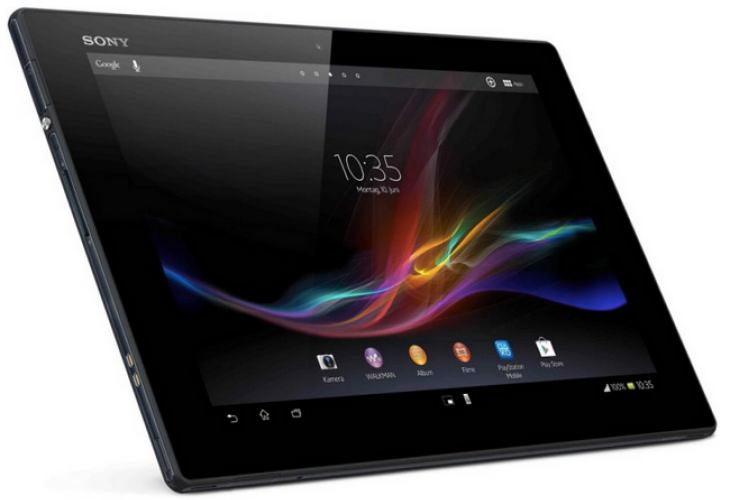 Sony's 'water-proof' tablet up for grabs in US
