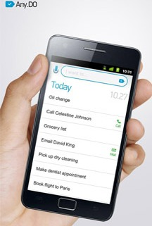 Apps helping absent-minded people remember 'to-do list'!