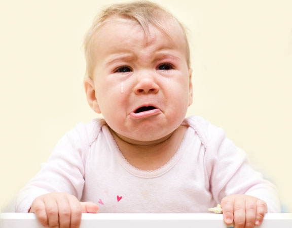 So where do babies cry the most?