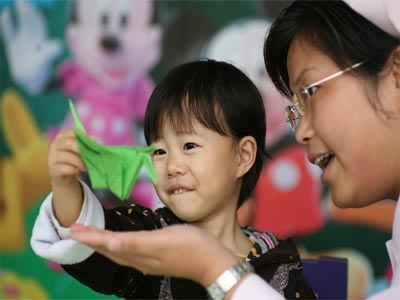 Pollution causing cancer in children in China