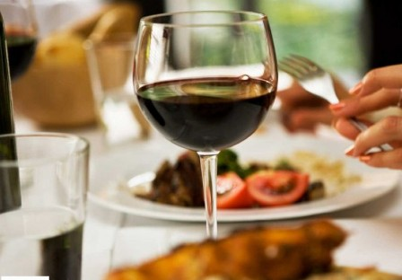Dine with wine for good health