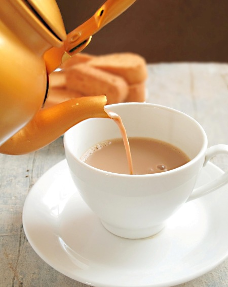 Tea lowers odds of ovarian cancer?