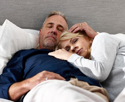 Secret to happy marriage is a good night's sleep