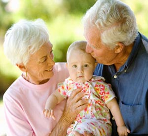 Grandparents may worsen mothers' baby blues