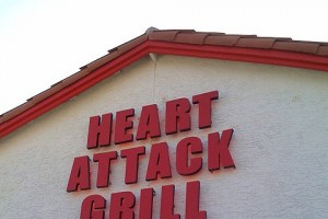 Man suffers heart-attack at Heart Attack Grill