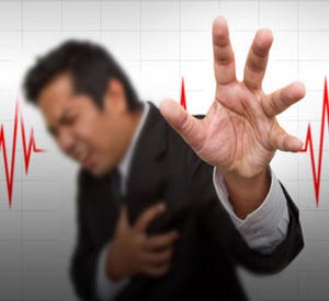 Test to detect early onset of heart attacks