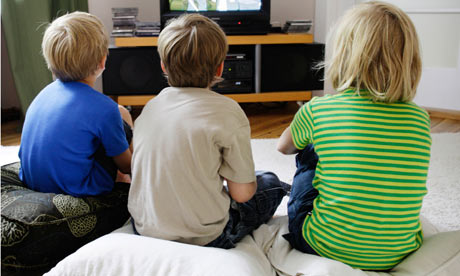 UK kids 'spend more time watching TV than at school'