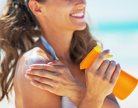 Trying everything to protect yourself from tanning? Start re-applying sunscreen