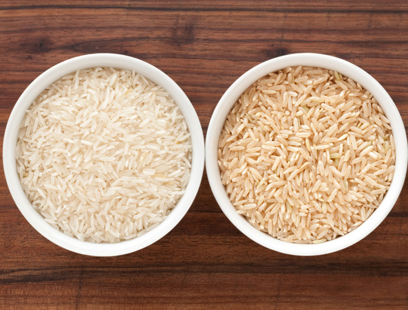 Good news! Swapping white rice with brown speeds up weight loss