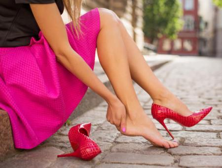 Ladies beware! Wearing high heels regularly may cause premature Osteoarthritis