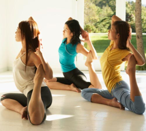 Yoga can help women with urinary incontinence