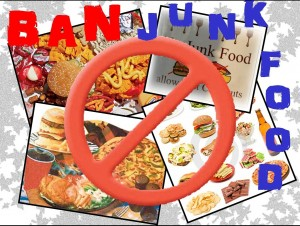 should jank food be banned in Debate about should junk food be banned in schools: yes or no.