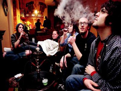 Russia to ban hookah smoking in public