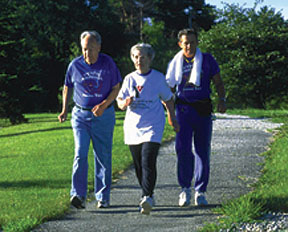 Active seniors can lower heart attack risk by increasing physical activity