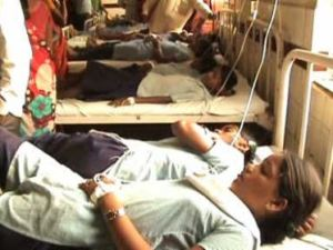 30 students hospitalised after eating midday meal in Telangana