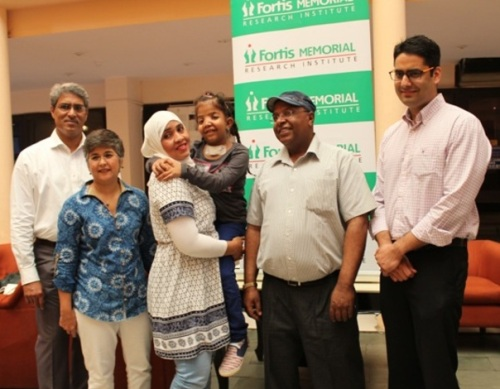 Six-year-old from Oman born with Crouzon Syndrome given new lease of life at Fortis