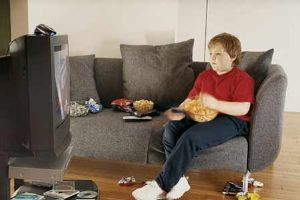 Limiting TV time may help prevent weight gain in kids