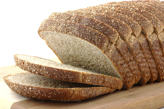 makes whole wheat bread a lot more appetising and tasty -- it just ...