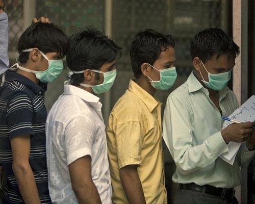 how to avoid swine flu in india