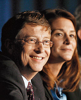 Bill, Melinda Gates meet Health Minister Azad, discuss issues relating to polio vaccination