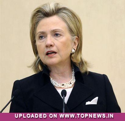 Gaddafi may be considering exile despite claims of winning war: Clinton