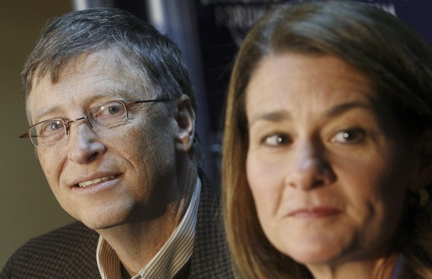 bill gates wife. Bill Gates, Melinda Gates