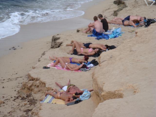 Sex on nude beach ibiza