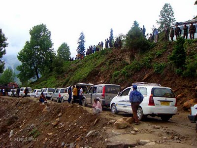 traffic resumes on manali chandigarh highway after a