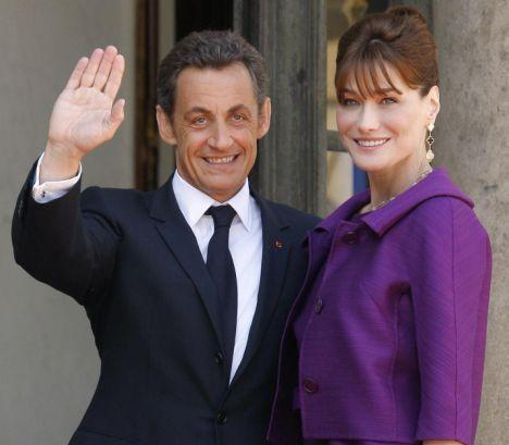 nicolas sarkozy and carla bruni. Nicolas Sarkozy, Carla Bruni