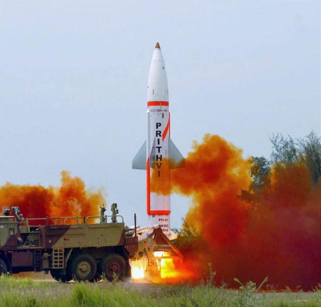 الهند تجربة صاروخ باليستي