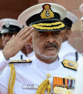 Indian Navy concerned over shortage of officers, sailors: Admiral Joshi
